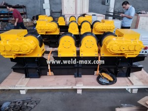 Old customers continue to place orders-20Ton Turning Rolls ship to United States