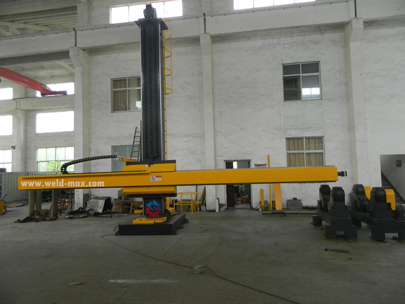 4X7 Welding Manipulator (Chelyabinsk,Russia)